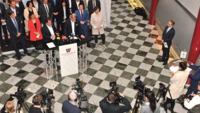 """Bild von Team Wirtschaftsbund NÖ: """"die geballte Kraft der blau-gelben Wirtschaft"""" für WKNÖ-Wahl"""