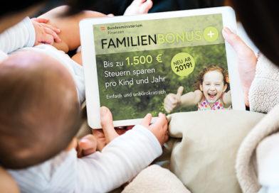 Was müssen Sie tun, um den Familienbonus Plus zu erhalten?