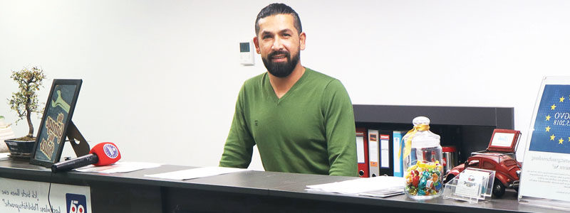 Aşağı Avusturya'da RIZ UP'dan Ücretsiz Danışmanlık Alıp, Şirket Kuran Girişimci Mustafa Ergül ile Röportaj.