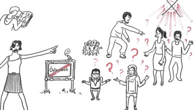 Bild von Was tun, wenn sich Jugendliche in Richtung gewalttätigem Extremismus radikalisieren?