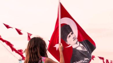 Bild von Die Türkische Republik im 97. Jahr ihrer Gründung und Atatürk