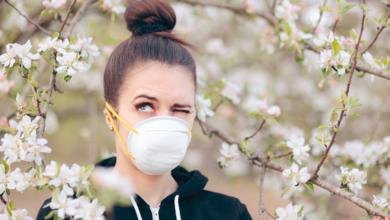 Bild von Mit dem Frühling kann sich das Risiko der Allergie und der Übertragung des Coronavirus erhöhen
