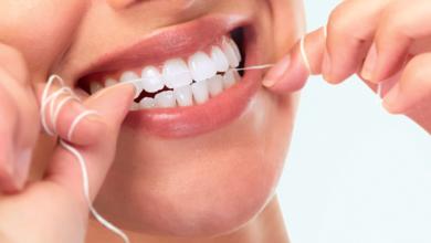 Bild von Verwenden Sie Zahnseide, um abzunehmen