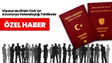 Bild von Viyana'da 20 bin Türk'ün Avusturya Vatandaşlığı Tehlikede